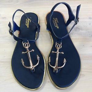 8ce84a09ed66 Women s Anchor Sandals on Poshmark